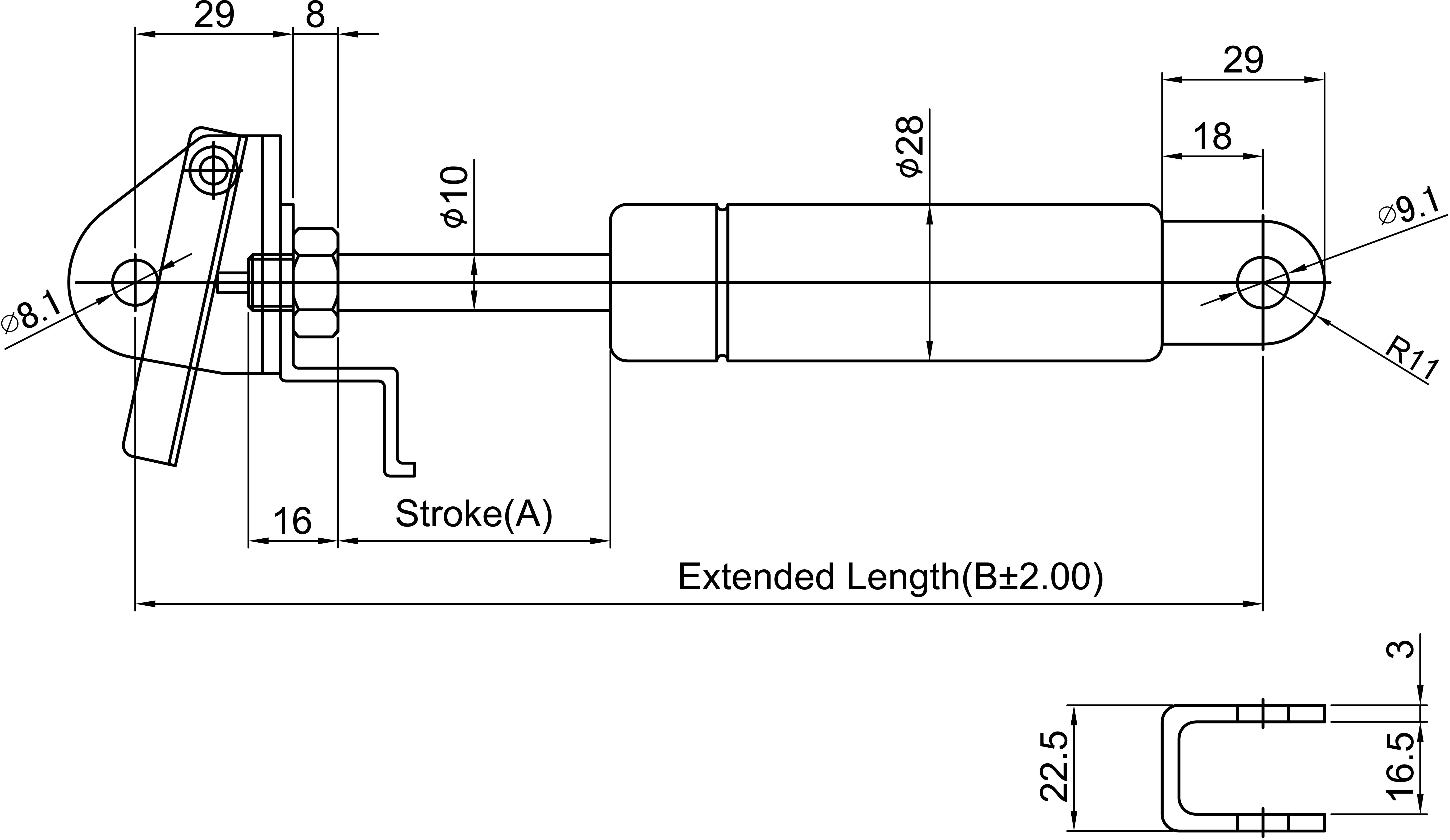 氮气压力开关接线图